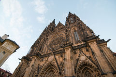 Saint Vitus Catherdral. In Prague Stock Photos