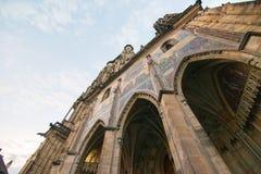 Saint Vitus Catherdral. In Prague Royalty Free Stock Photo