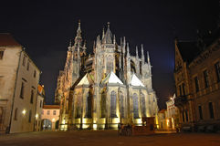 Saint Vitus's Cathedral, St. Vitus Cathedral Royalty Free Stock Photos