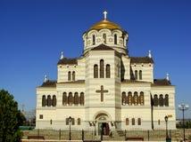 Saint Vladimir Cathedral in Chersonesos Taurica, Sevastopol, Cri Stock Photos