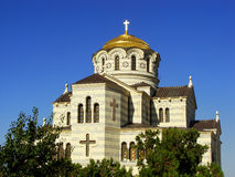 Saint Vladimir Cathedral in Chersonesos Taurica, Sevastopol, Cri Royalty Free Stock Photos