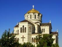 Saint Vladimir Cathedral in Chersonesos Taurica, Sevastopol, Cri Royalty Free Stock Photos