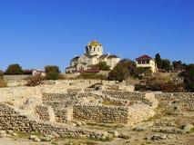 Saint Vladimir Cathedral in Chersonesos Taurica, Sevastopol, Cri Stock Photography