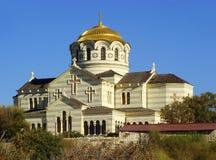 Saint Vladimir Cathedral in Chersonesos Taurica, Sevastopol, Cri Royalty Free Stock Image