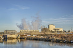 Saint Vrain Generating Station de fort images stock