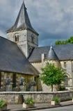 Saint Wandrille Rancon, France - june 22 2016 : Saint Michel chu Stock Photography