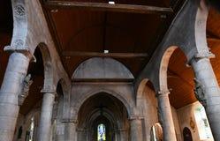 Saint Wandrille Rancon, France - june 22 2016 : Saint Michel chu Royalty Free Stock Images