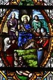Saint Wandrille Rancon, France - june 22 2016 : Saint Michel chu Royalty Free Stock Photography