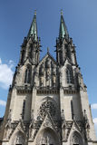 Saint Wenceslas Cathedral in Olomouc. Royalty Free Stock Image