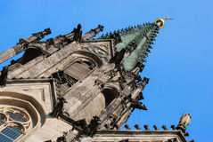Saint Wenceslas Cathedral, Olomouc, Czech Republic Royalty Free Stock Photos