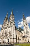 Saint Wenceslas Cathedral - Olomouc - Czech Republic Stock Photos