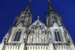 Saint Wenceslas Cathedral in Olomouc in the Czech Republic Royalty Free Stock Photography
