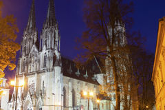 Saint Wenceslas Cathedral in Olomouc in the Czech Republic Royalty Free Stock Image