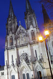 Saint Wenceslas Cathedral in Olomouc in the Czech Republic Stock Images