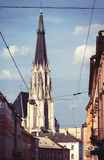 Saint Wenceslas Cathedral, Olomouc, Czech Republic Stock Photography