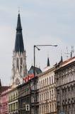 Saint Wenceslas Cathedral, Olomouc, Czech Republic Stock Images