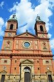 Saint Wenceslav cathedral in Prague Stock Images