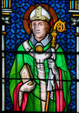 Saint Wolfgang of Regensburg Royalty Free Stock Image