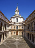 Saint Yves at La Sapienza church. Rome. Italy. Stock Images
