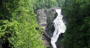 Sainte安妮在峡谷Sainte安妮(魁北克,加拿大)系列(1跌倒23) 库存图片