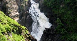 Sainte安妮在峡谷Sainte安妮(魁北克,加拿大)系列(21跌倒23) 免版税图库摄影