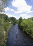 Sainte-Ã ‰ milie de l'A ‰ nergie的一点河 库存图片