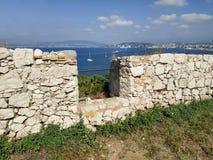 Sainte-маргаритка форта королевская стоковые изображения