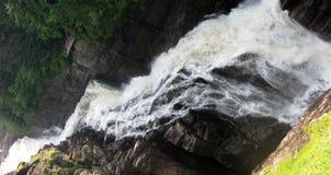 Sainte-Энн падает в серию Sainte-Энн каньона (Квебека, Канады) (9 из 23) Стоковое Изображение RF