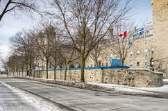 Sainte Anne College Lachine. Collège Sainte-Anne is a private Canadian corporation of Primary, High School and Pre-university schools located in Montreal stock photography