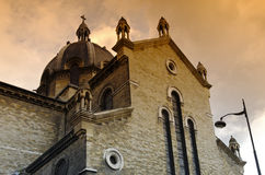 Sainte-Anne de la Butte-aux-Cailles  church in Paris Royalty Free Stock Photos