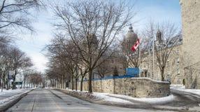Sainte Anne szkoła wyższa Lachine fotografia royalty free