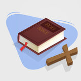 Sainte Bible illustration libre de droits