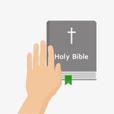 Sainte Bible illustration de vecteur