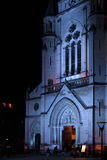 Sainte-Blandine Church in Lyon, during Festival of Royalty Free Stock Image