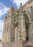 Sainte-Cecile Cathedral of Albi, France Stock Images