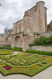 Sainte-Cecile Cathedral of Albi, France Royalty Free Stock Photo