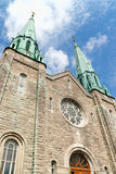 Sainte Cecile Church in Montreal Stock Photography