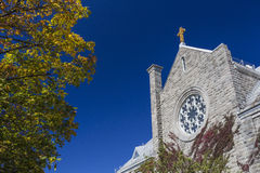 Sainte-Cecile Church Royalty Free Stock Photography