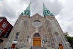 Sainte Cecile Church Stock Photo