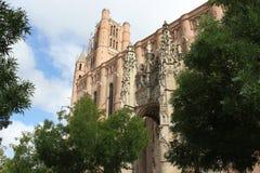 Sainte Cecile katedra, Albi Zdjęcia Stock