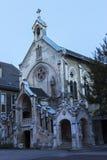 Sainte-Chapelle在尚贝里,法国 免版税库存照片