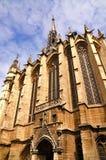 Sainte-Chapelle à Paris Photo stock
