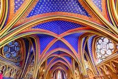 Sainte-Chapelle - Παρίσι, Γαλλία Στοκ Εικόνα