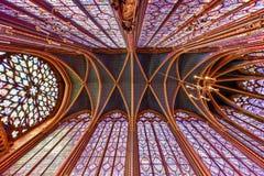 Sainte-Chapelle - Παρίσι, Γαλλία Στοκ φωτογραφίες με δικαίωμα ελεύθερης χρήσης