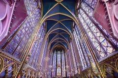 Sainte-Chapelle - Παρίσι, Γαλλία Στοκ Φωτογραφίες