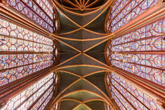Sainte-Chapelle - Παρίσι, Γαλλία Στοκ Φωτογραφία