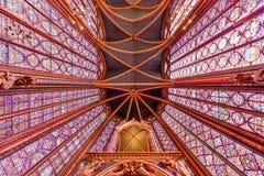 Sainte-Chapelle - Παρίσι, Γαλλία Στοκ φωτογραφία με δικαίωμα ελεύθερης χρήσης