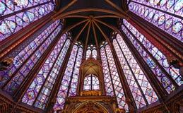 Sainte Chapelle Στοκ φωτογραφία με δικαίωμα ελεύθερης χρήσης