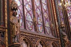 Sainte Chapelle Royalty-vrije Stock Afbeelding