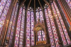Sainte Chapelle Stock Afbeeldingen